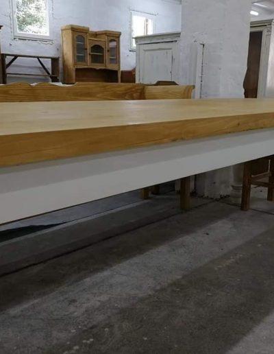 etkezo 10sz asztal fenyo mivesbutor 3 - Felújított Míves Bútorok