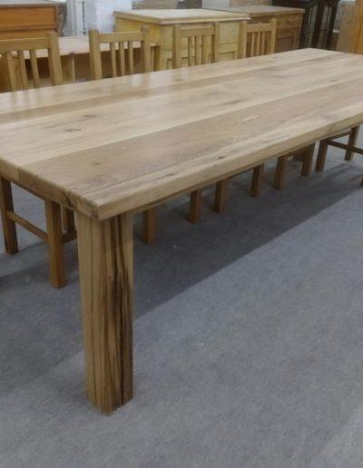 etkezo 12sz asztal tolgy mivesbutor 1 - Felújított Míves Bútorok