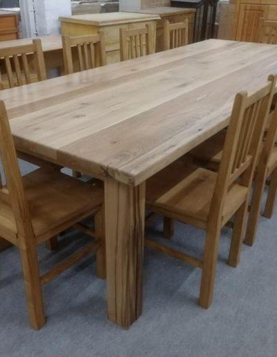 etkezo 12sz asztal tolgy mivesbutor 2 - Felújított Míves Bútorok