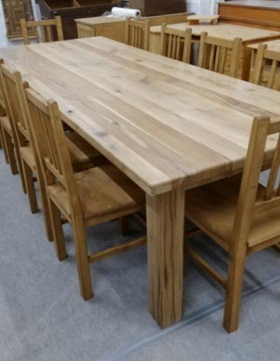 etkezo 12sz asztal tolgy mivesbutor 4 - Felújított Míves Bútorok
