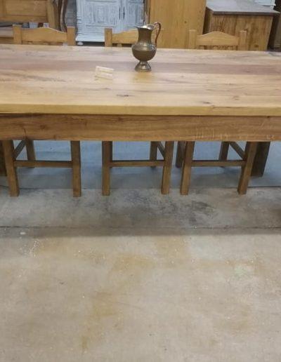 etkezo 8sz asztal tolgy mivesbutor 2 - Felújított Míves Bútorok