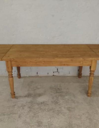 etkezo kihuzhatos esztergalt asztal mivesbutor 3 1 - Felújított Míves Bútorok