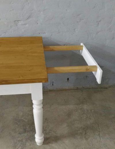 etkezo kihuzhatos esztergalt asztal mivesbutor 3 - Felújított Míves Bútorok