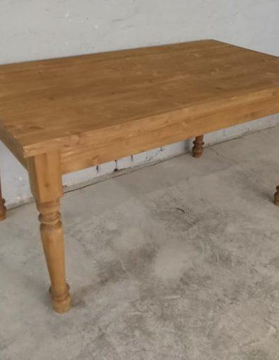 etkezo kihuzhatos esztergalt asztal mivesbutor 4 1 - Felújított Míves Bútorok