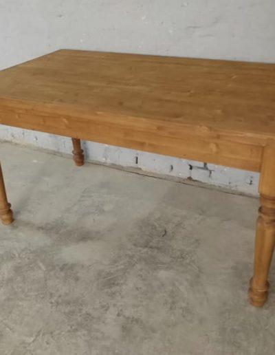 etkezo kihuzhatos esztergalt asztal mivesbutor 5 1 - Felújított Míves Bútorok