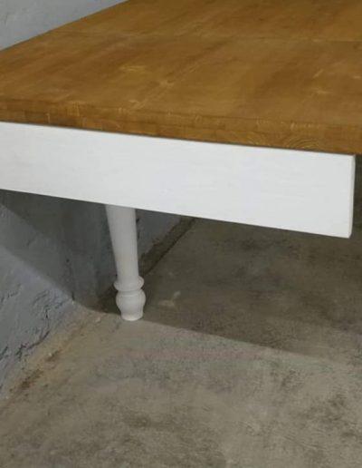 etkezo kihuzhatos esztergalt asztal mivesbutor 6 - Felújított Míves Bútorok