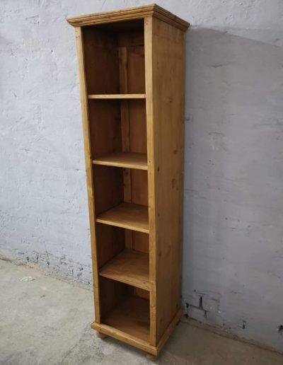 könyves szekreny 50cm 1 - Felújított Míves Bútorok