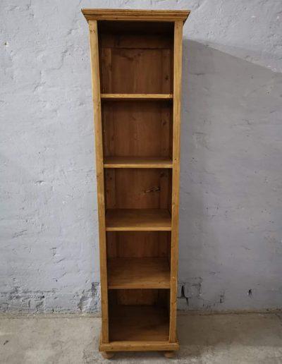 könyves szekreny 50cm 2 - Felújított Míves Bútorok