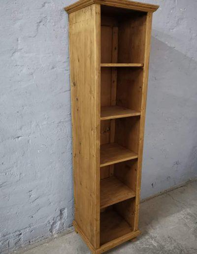 könyves szekreny 50cm 3 - Felújított Míves Bútorok