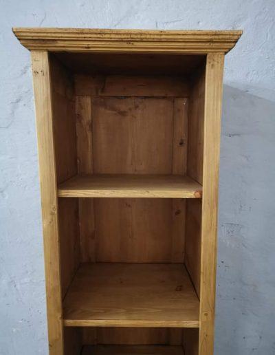 könyves szekreny 50cm 4 - Felújított Míves Bútorok
