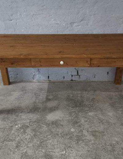 200 egyenes vax asztal mivesbutor 2 - Felújított Míves Bútorok