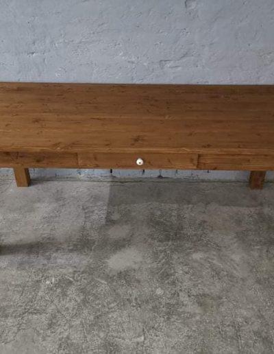 200 egyenes vax asztal mivesbutor 6 - Felújított Míves Bútorok
