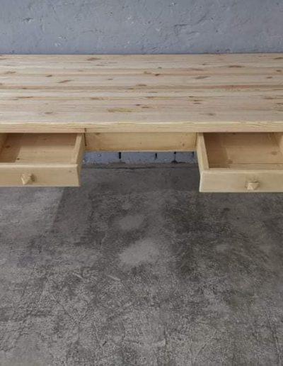 250 asztal festetlen akcios mivesbutor2 - Felújított Míves Bútorok