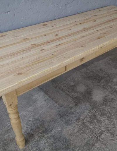 250 asztal festetlen akcios mivesbutor3 - Felújított Míves Bútorok