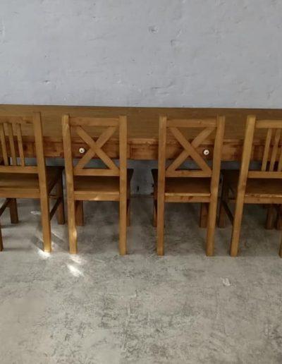 250 esztergalt vax asztal mivesbutor 2 - Felújított Míves Bútorok