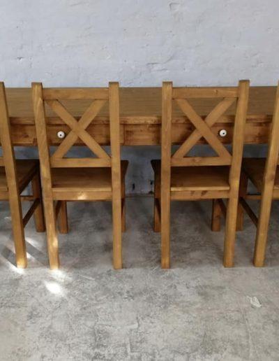 250 esztergalt vax asztal mivesbutor 8 - Felújított Míves Bútorok