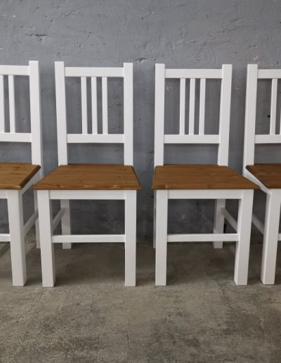 3palcas feher szek mivesbutor6 - Felújított Míves Bútorok