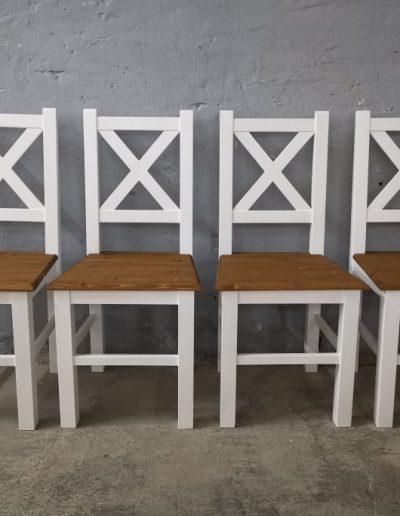 x feher szek mivesbutor6 - Felújított Míves Bútorok