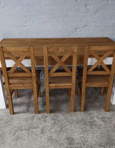 180 egyenes feher asztal mivesbutor 4 - Felújított Míves Bútorok
