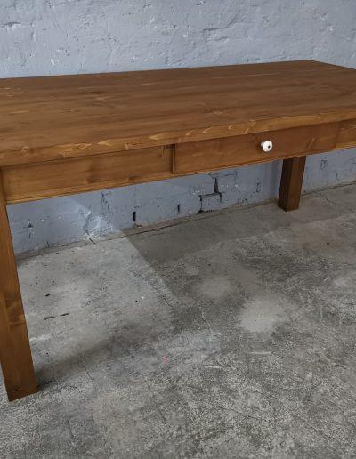 180 egyenes vax asztal mivesbutor 3 - Felújított Míves Bútorok