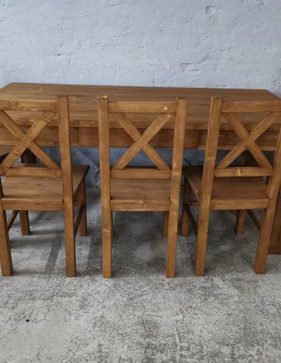 180 egyenes vax asztal mivesbutor 5 - Felújított Míves Bútorok