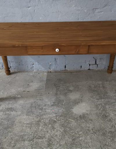 180 esztergalt vax asztal mivesbutor 1 - Felújított Míves Bútorok