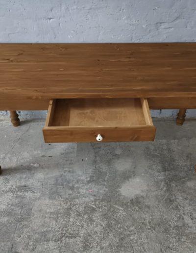 180 esztergalt vax asztal mivesbutor 4 - Felújított Míves Bútorok