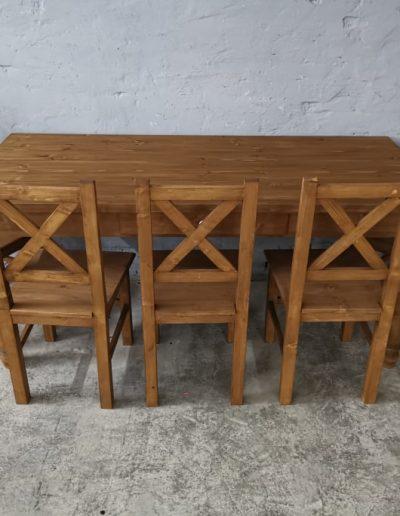 180 esztergalt vax asztal mivesbutor 5 - Felújított Míves Bútorok