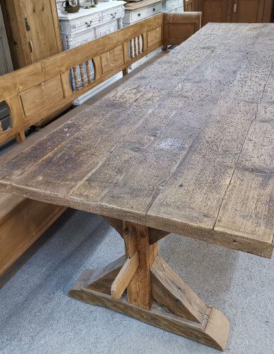 350 gerenda asztal mivesbutor 4 - Felújított Míves Bútorok
